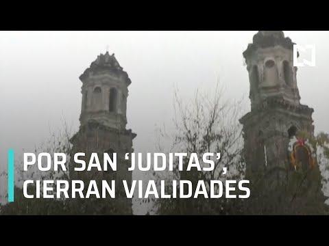 Por festejos de San Judas Tadeo, cierran vialidades - Al Aire