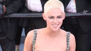 Kristen Stewart on the red carpet for the Premiere of 120 battements par minutes