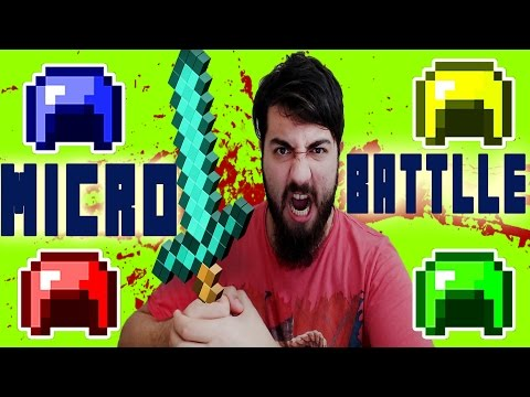 Minecraft Micro Battle Kapışması /w At Kafası