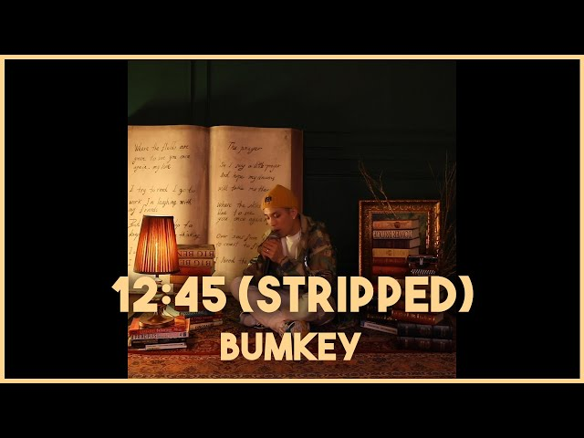 Etham - 12:45 (Stripped) | Cover by BUMKEY