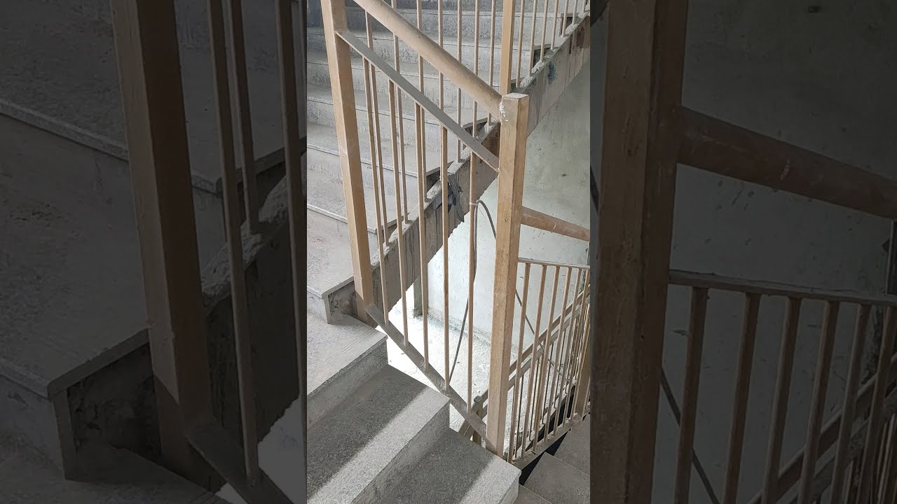 Building MS railing work for staircase - YouTube