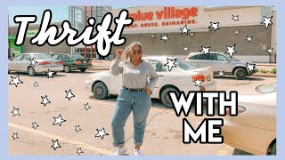Come Thrift With Me + Plus Size Try On Haul