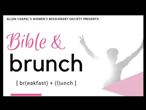 Bible And Brunch