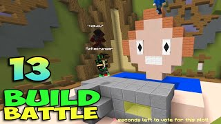 ч.13 Minecraft Build Battle - Бомбящий Вулкан, Бабушкин Телефон и Камера