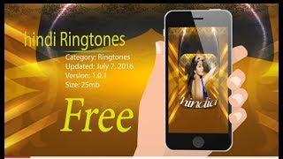 Hindi Ringtones for mobile mp3 || best Ringtones app 2018 || Bollywood Ringtones best app 2018 ||APS