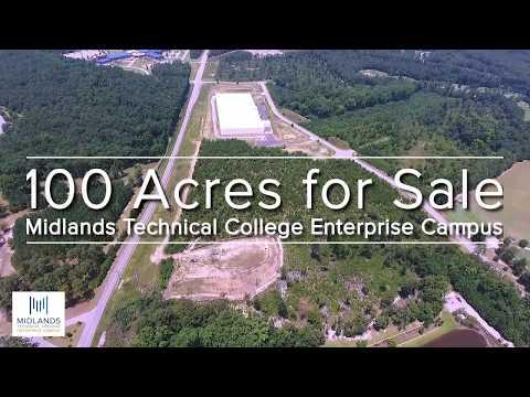 Midlands Technical College Enterprise Campus – 100 Acres Available