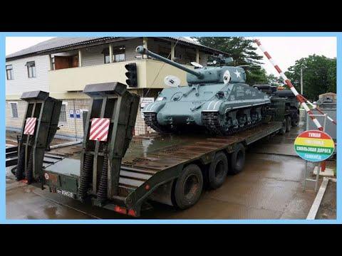 """畫蛇添足:俄羅斯修復M4A2""""謝爾曼""""裝上步戰裙板"""