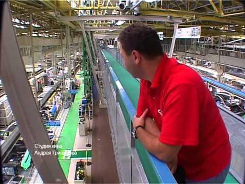 Япония Завод Toyota! 2005 проект Андрея Гришакова Автомобилестроение