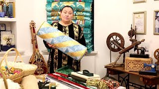Лоскутное шитье для начинающих - как сшить подушку валик. 1 урок. Важная информация в конце видео.