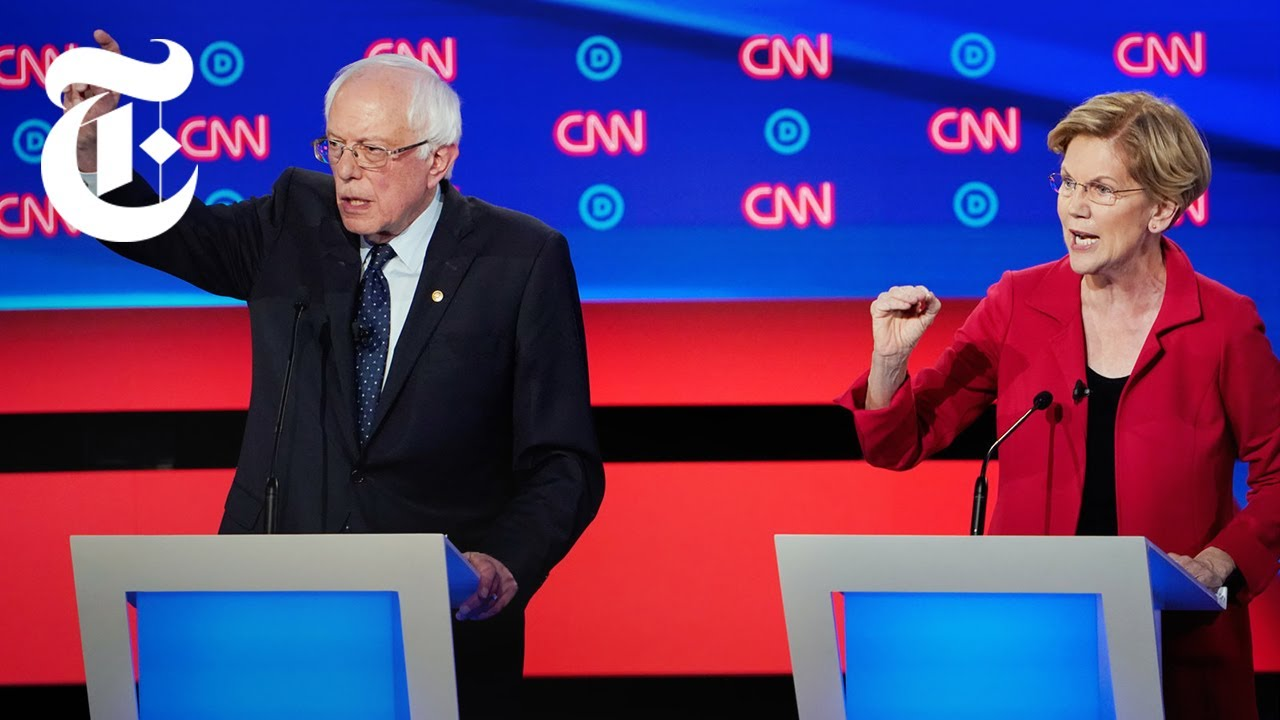 The Second  2019 Democratic Debate: Key Moments, Day 1 | NYT News