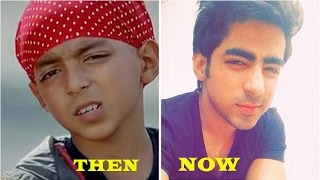 Bollywood Child Actors -Then & Now