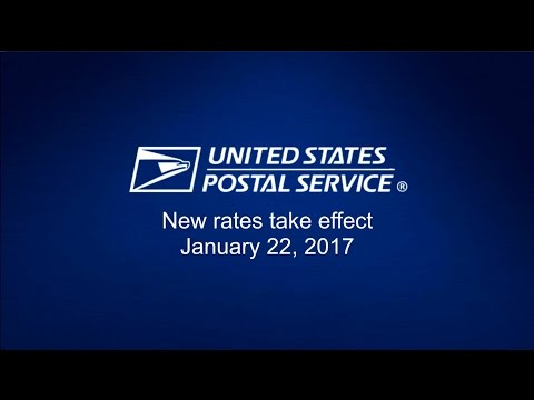USPS Rate Change Highlights -  January 2017