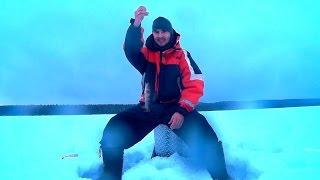Зимняя рыбалка в Карелии. Как я провожу выходные.