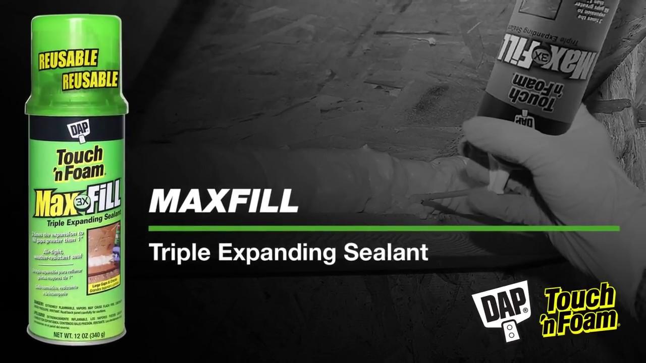 Max Fill Triple Expanding Foam Sealant | Touch 'n Foam