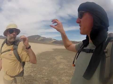Surprise interview with Geologist in Death Valley