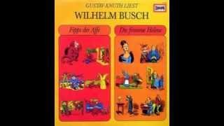 LP EUROPA - Gustav Knuth liest - Wilhelm Busch - B-Seite: Die fromme Helene.wmv