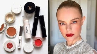 Kate Bosworth Makeup Bag | Fresh Face with Pops of Colour