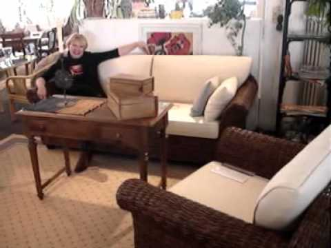 m m rattanm bel und korbm bel youtube. Black Bedroom Furniture Sets. Home Design Ideas