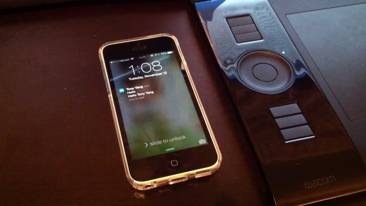 Great IPhone Clear Case And LED Notification Trick!   YouTube Images