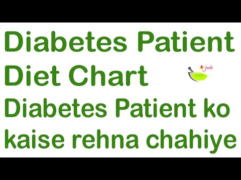 Diabetes Patient Diet chart? in Hindi✍ Diabetes Patient ko kya karna aur kya nhi karna chahiye