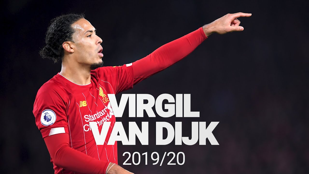 Best of: Virgil Van Dijk 2019/20 | Premier League Champion