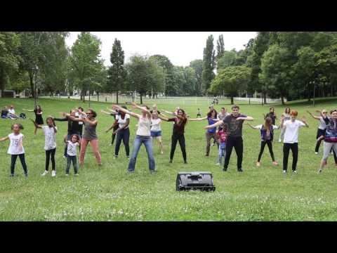 Chorégraphie FlashMob - Fête de la musique d'Antony 2017 - Ligne2Mire