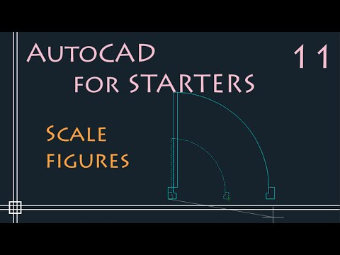 AutoCAD 2D - How to Scale a drawing - PART 1(Resize objects) - YouTube