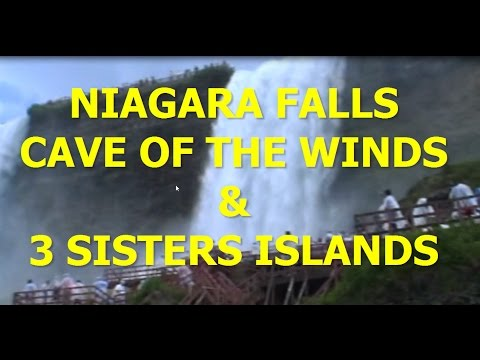 CAVE OF THE WINDS & THREE SISTERS ISLANDS TOUR - NIAGARA FALLS RV TRIP Part 4