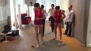 Ellen & Lea Sprunger - Making Of Shooting Unirisc - C.k.f.d