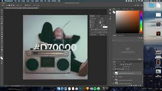 Timelapse - Creating a Custom Spotify Playlist Cover