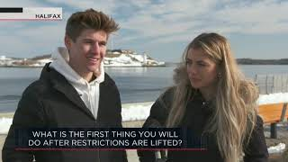 What is the first thing you will do after restrictions are lifted?  | Outburst