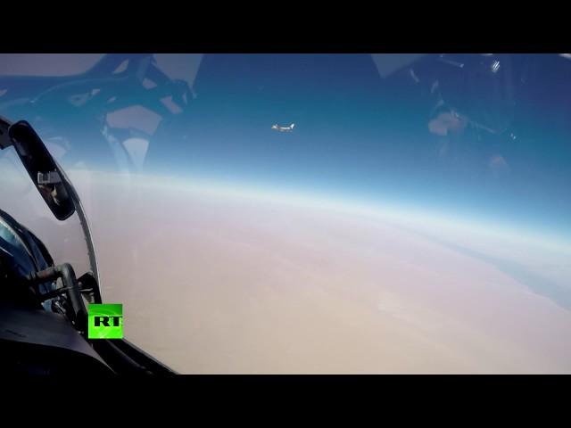 Минобороны опубликовало видео уничтожения целей ИГ под Раккой