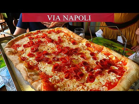 Lunch at Via Napoli Epcot! Italy Pavilion