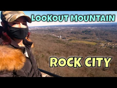Seeing Rock City   Lookout Mountain   Chickamauga Battlefield Tour