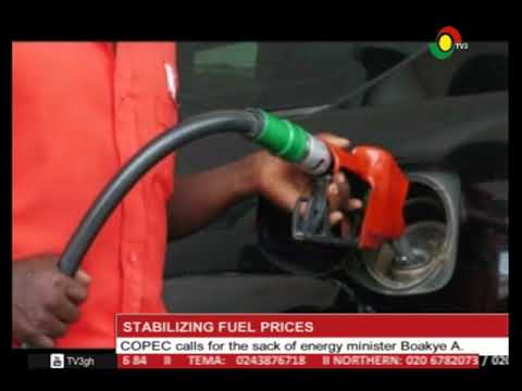 COPEC CALLS FOR THE SACK OF ENERGY MINISTER OVER FUEL PRICES