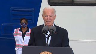 Biden se desorienta en pleno discurso en Texas