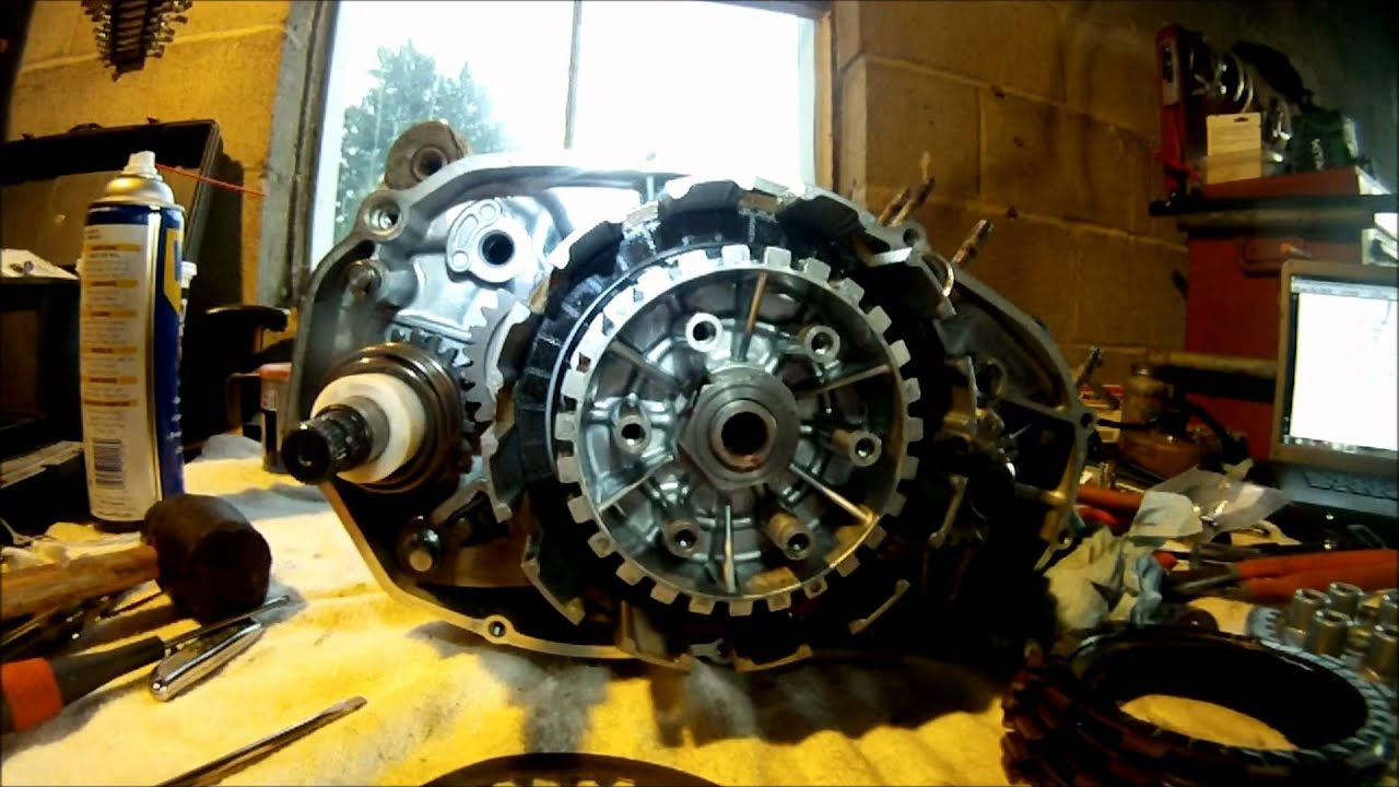 hight resolution of yamaha banshee clutch side assembly part 2 of 5