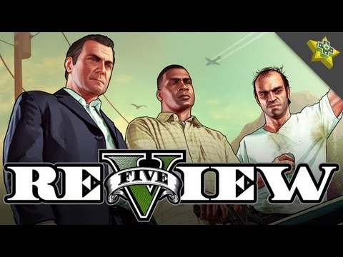 Grand Theft Auto 5 REVIEW! Adam Sessler Reviews