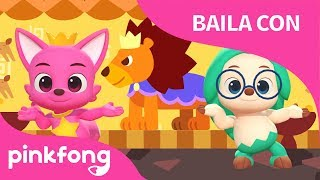 El León | Animales | Bailemos con Pinkfong | Pinkfong Canciones Infantiles