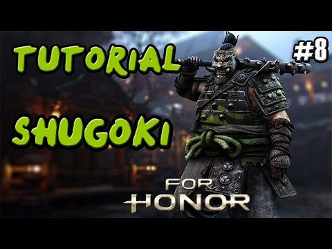 FOR HONOR | GUIA TUTORIAL SAMURAI SHUGOKI | COMBOS Y TRUCOS | GAMEPLAY ESPAÑOL