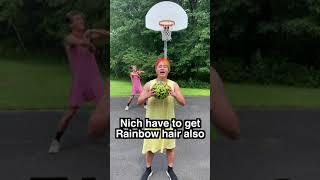 Funny Basket Ball Challenge #Shorts