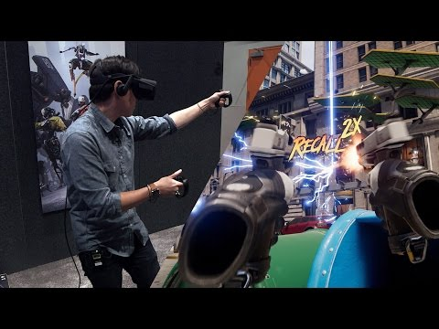 Hands-On: Epic Games Robo Recall for Oculus Touch