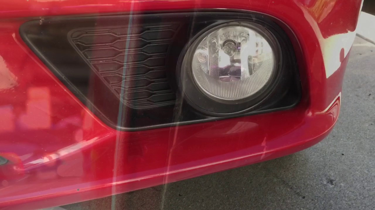 2011 Dodge Charger Front Bumper Removal And Fog Light