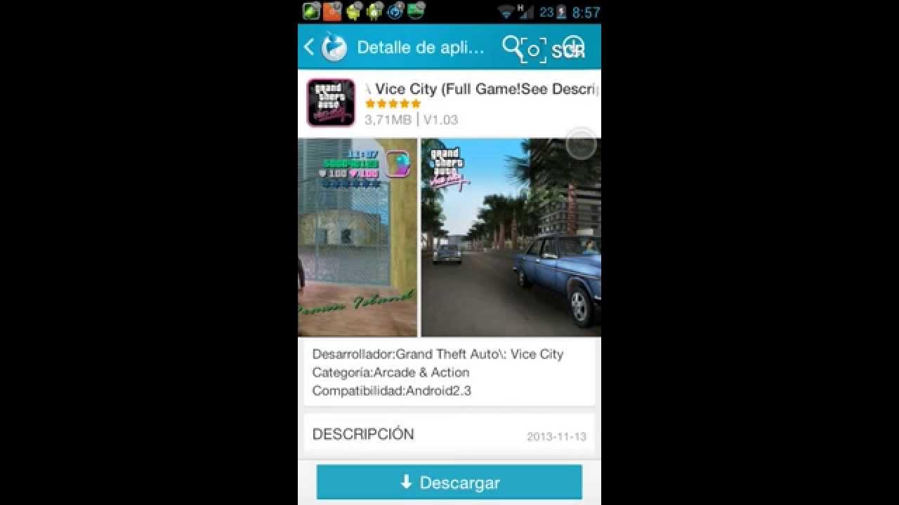 Descarga Juegos Gratis Gta Vice City San Andreas Youtube