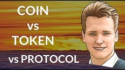 Difference between COIN, TOKEN and PROTOCOL - Programmer explains