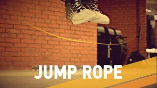 как научиться делать двойные прыжки на скакалке