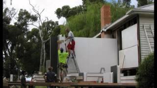 Habitech Wall Installation