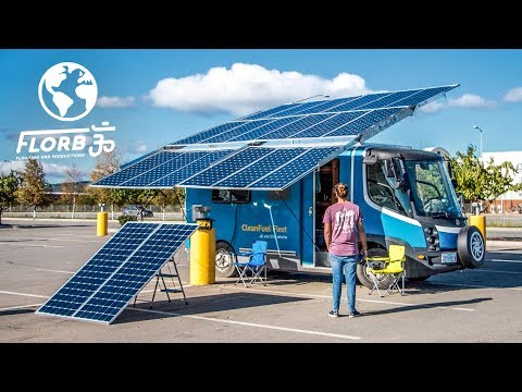 These Guys Are Driving This Solar Powered Van From Alaska to Argentina