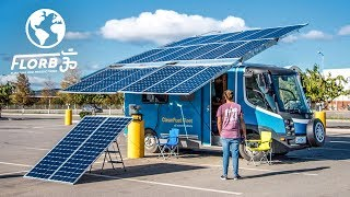 Off-Grid Solar Powered Electric Van Conversion