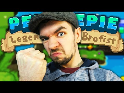 I'M IN A GAME | PewDiePie: Legend of the Brofist #1